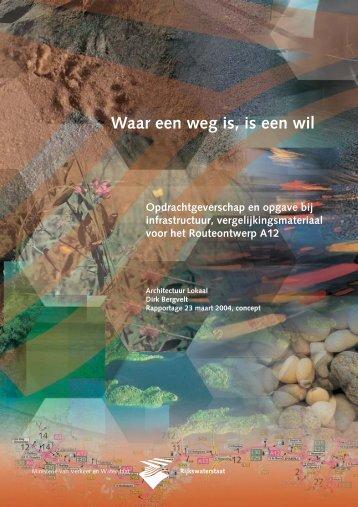 Waar een weg is is een wil (.pdf) - Architectuur Lokaal