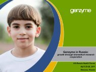 Genzyme - Foundation for the National Institutes of Health