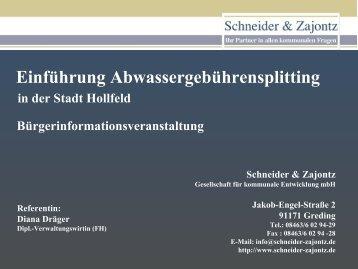 Schneider & Zajontz - Hollfeld