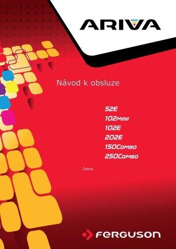 Ariva_250Combo_manual_CZ_v3.pdf ( velikost : 10 ... - TVdigitalne.cz