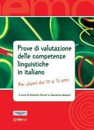 Prove di valutazione delle competenze linguistiche in italiano