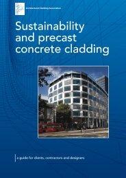 Sustainability and precast concrete cladding - British Precast