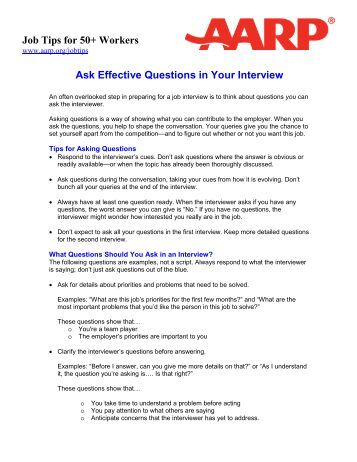 Staff Resources - AARP Foundation WorkSearch Information ...
