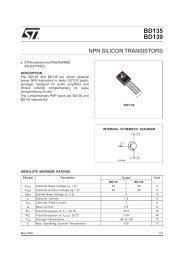 NPN SILICON TRANSISTORS