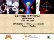 Introduction to Fluorescence Essays