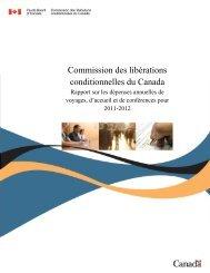 Commission des libérations conditionnelles du Canada
