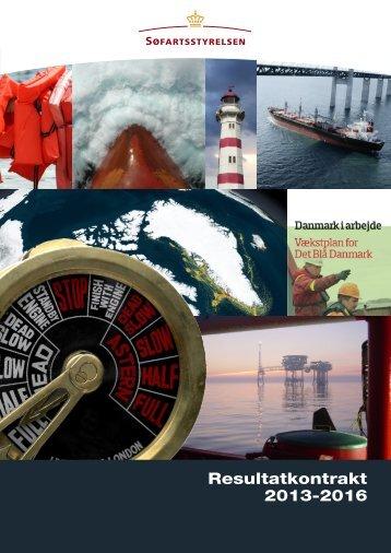 Resultatkontrakt 2013-2016 - Søfartsstyrelsen