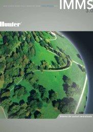 Sistema de control centralizado - Hunter Industries