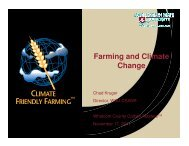 Farming and Climate Change - WSU Whatcom County Extension