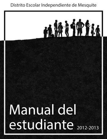 Manual del estudiante - Mesquite ISD