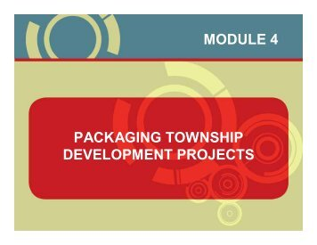 packaging township development projects ... - Urban LandMark