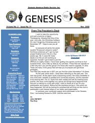 Genesis Amateur Radio Society