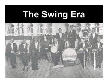 The Swing Era - band4me