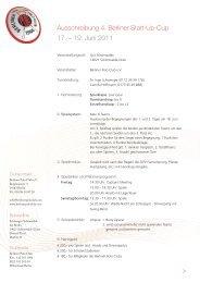 Ausschreibung 4. Berliner Start-Up-Cup 17. – 19. Juni 2011 >
