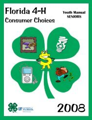 Consumer Choices (2008) - Senior - Sarasota County Extension ...