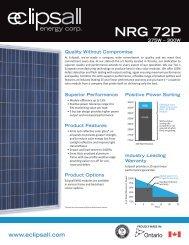 NRG 72 P Series - Eclipsall