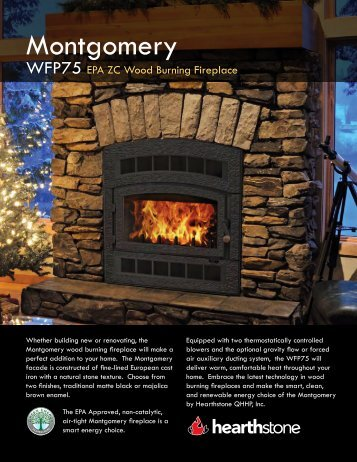 Montgomery Fireplace Brochure - The Firebird