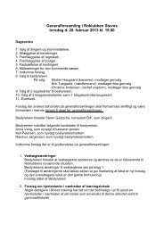 Generalforsamling i Roklubben Stevns torsdag d. 28. februar 2013 ...