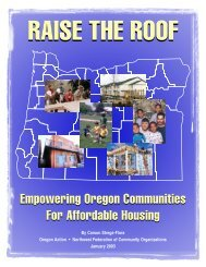 Empowering Oregon Communities For Affordable Housing ...
