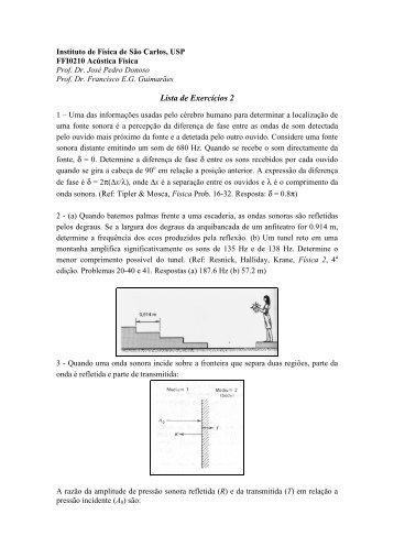 Lista Exercicios 2.pdf - USP