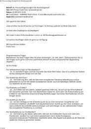 Antwortschreiben der NPD - Kompakt Nachrichten