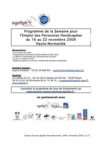 dossier presse SEPH agefiph HN - DrakkarOnline