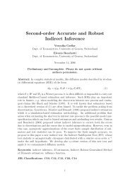 Second-order Accurate and Robust Indirect Inference - ecore