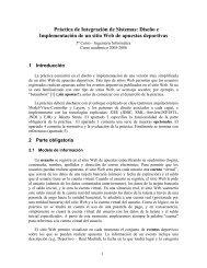 Enunciado de la práctica - Dpto. Tecnologías de la Información y las ...