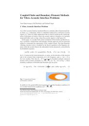 Coupled Finite and Boundary Element Methods for Vibro ... - DD21