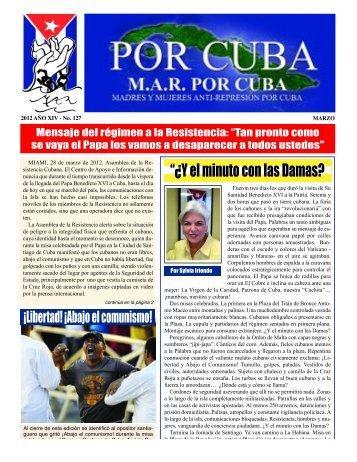 MAR marzo 2012:Layout 1 - MAR Por Cuba