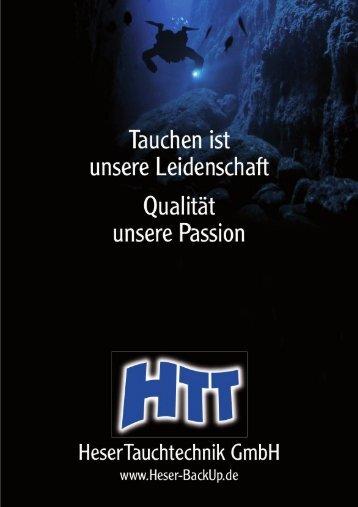 Katalog (PDF) - Heser - Tauchtechnik