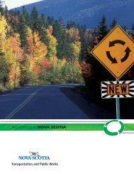 Roundabout - Government of Nova Scotia