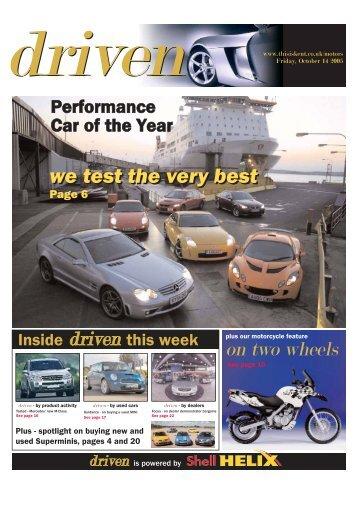we test the very best we test the very best - Car & Driving