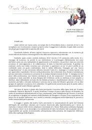 lettera del 6 gennaio 2013
