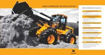 AGRO-CHARGEUSE JCB 434 S & 434 SHL - Carma Andenne | jcb