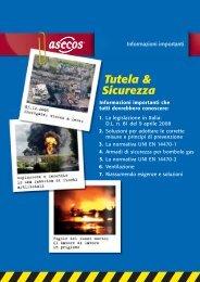 Informazioni legislative - Asecos GmbH