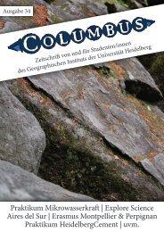 Ausgabe 34 - Geographisches Institut der Universität Heidelberg