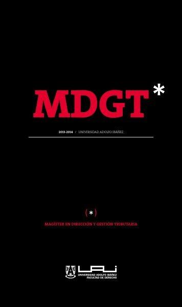 MDGT - Universidad Adolfo Ibañez