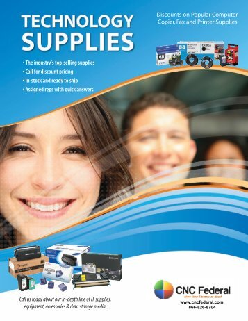 TECHNOLOGY SUPPLIES - CNC Federal