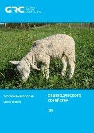 бизнес-план овцеводческого хозяйства - РБК.Исследования ...