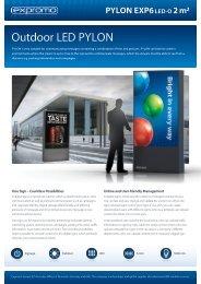 PYLON EXP6 LED-O 2 m² - ProShop Europe