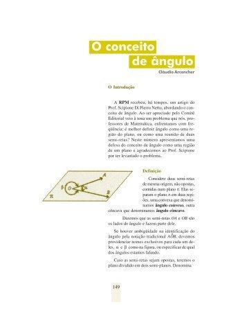 O conceito de ângulo - Ufrgs.br