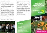 Programm - Grüne in der Region Hannover