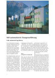 Voll automatisierte Stangenzuführung - H+H Herrmann + Hieber ...