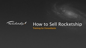 How to Sell Rocketship
