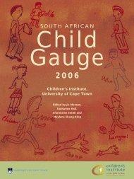 South African Child Gauge - Children's Institute