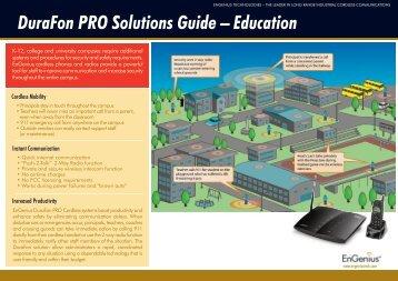 DuraFon PRO Solutions Guide - Sites Computer Resources, Inc.
