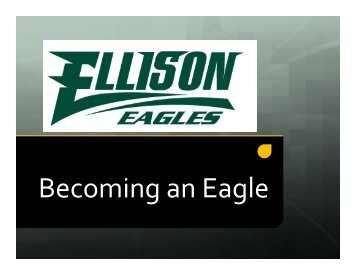 Becoming an Eagle