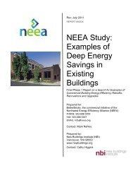 Examples of Deep Energy Savings in Existing Buildings - BetterBricks