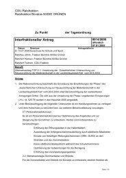 Interfraktioneller Antrag - Bündnis 90/Die Grünen Kiel
